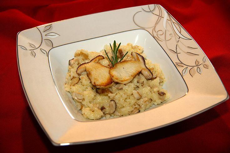Risotto aux cèpes http://jackie-cuisine.over-blog.com