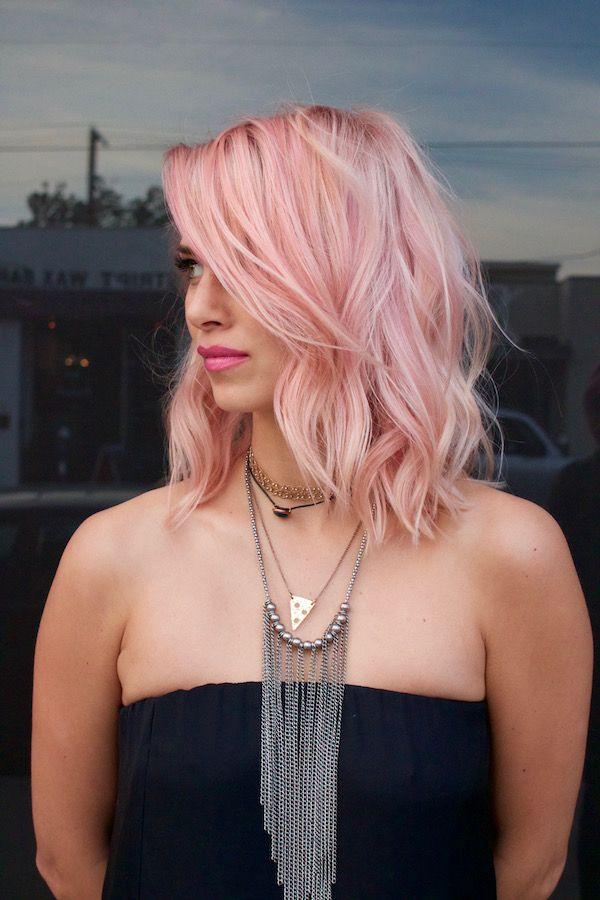 #PinkHair by Colorist Danny Moon