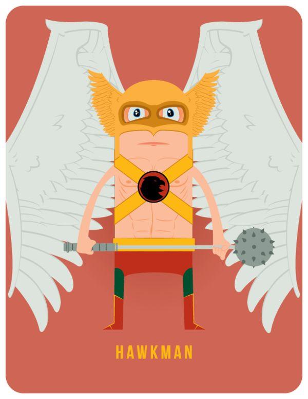 Hawkman by Adam Thompson