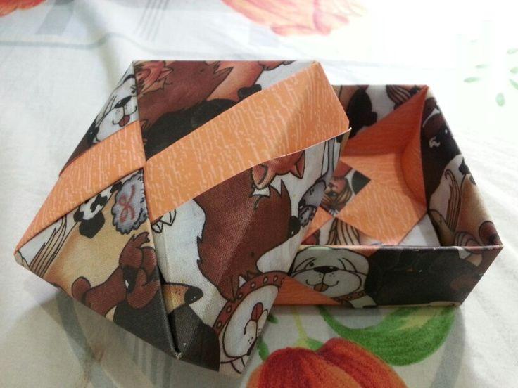 Origami giftbox buatan tangan #handmade #diy
