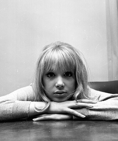 "missavagardner: "" Pattie Boyd photographed by Larry Ellis, 1964. """