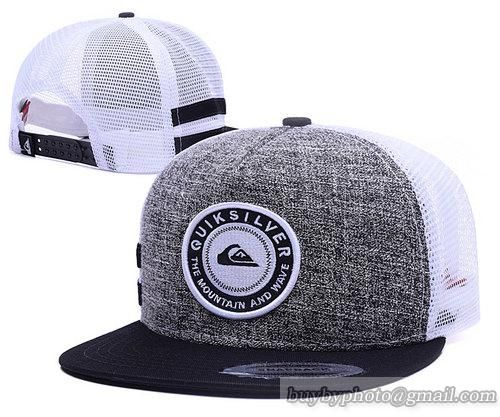 QUIKSILVER Mesh Snapback Hats Quick-drying cap 007|only US$6.00 - follow me to pick up couopons.