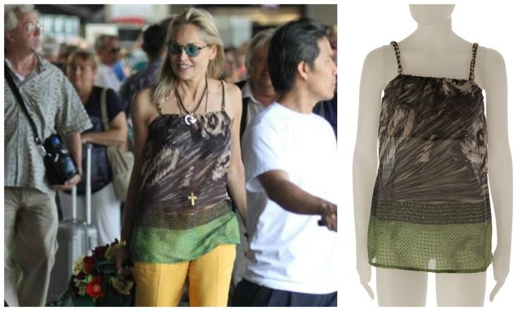 Sharon Stone wearing Titti Peggy: the perfect style!