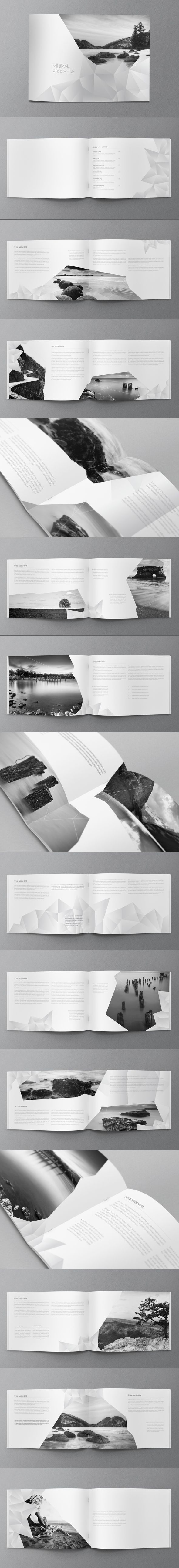 White Minimal Brochure. Download here…