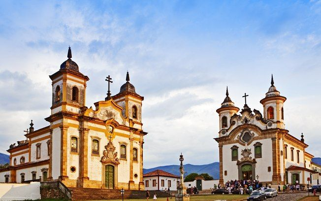 Igrejas de São Francisco de Assis e Nossa Senhora da Assunção,  Mariana, Minas Gerais, Brasil