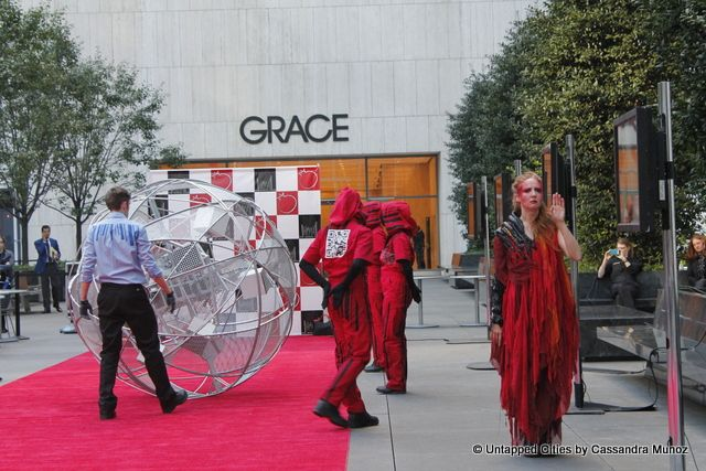 Putting POPS to use: Glory Road Performance Piece at Grace Plaza... The Nerve Tank works with Arts Brookfield to bring the myth of Sisyphus to Grace Plaza, a publicly owned private space in Midtown Manhattan.