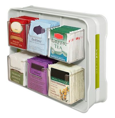 Product of the Week: Tea Organizer   Organized by O'Dell   Store and protect over 100 tea bags