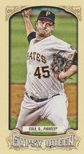 2014 Gypsy Queen Mini Box Variations #142 Gerrit Cole Pittsburgh Pirates