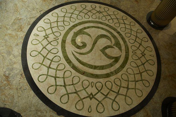 ExoTiles - B1587 Marble Medallion Floor Tiles, Ask for a quote (http://www.exotiles.com.au/b1587-marble-medallion-floor-tiles/)