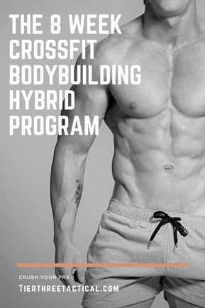 the 8 week functional bodybuilding hybrid program  ripped