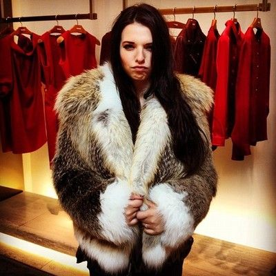 This girl is going to bankrupt me @kaitlyn_a by bradmontgomery #furcoats