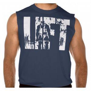Lift - Bill Kazmaier deadlift shirt - GymPrints.net