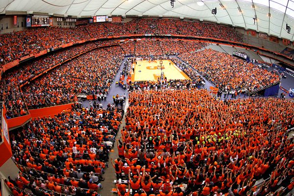 Carrier Dome, Syracuse University, Syracuse, NY