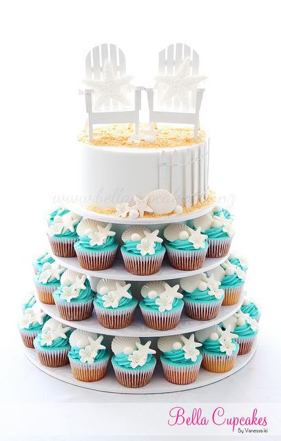 Flickriver: Photoset 'Cupcake Towers' by Bella Cupcakes (Vanessa Iti)