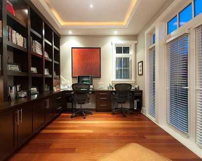 Office, Contemporary Home Office, Vancouver