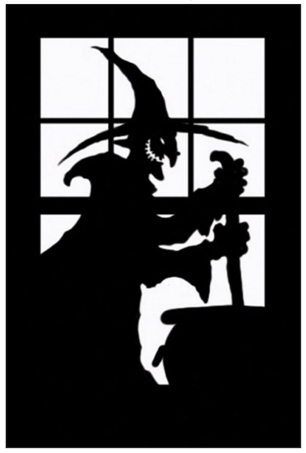 20 spooky halloween window decorations - Halloween Window Decoration