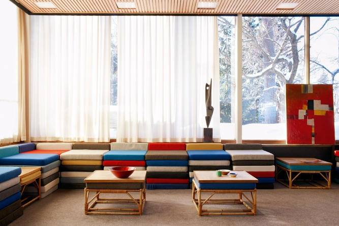 The home of Grethe Prytz Kittelsen is for sale. A modernistic treasure.