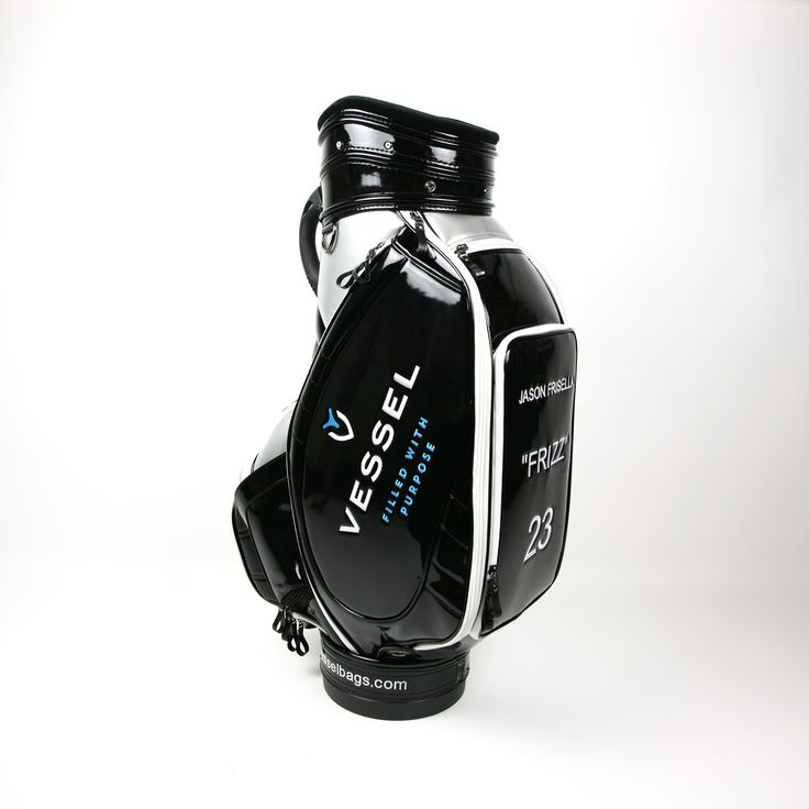 Check Out The Vessel Custom Golf Bag Specially Created For Soon To Be Pro