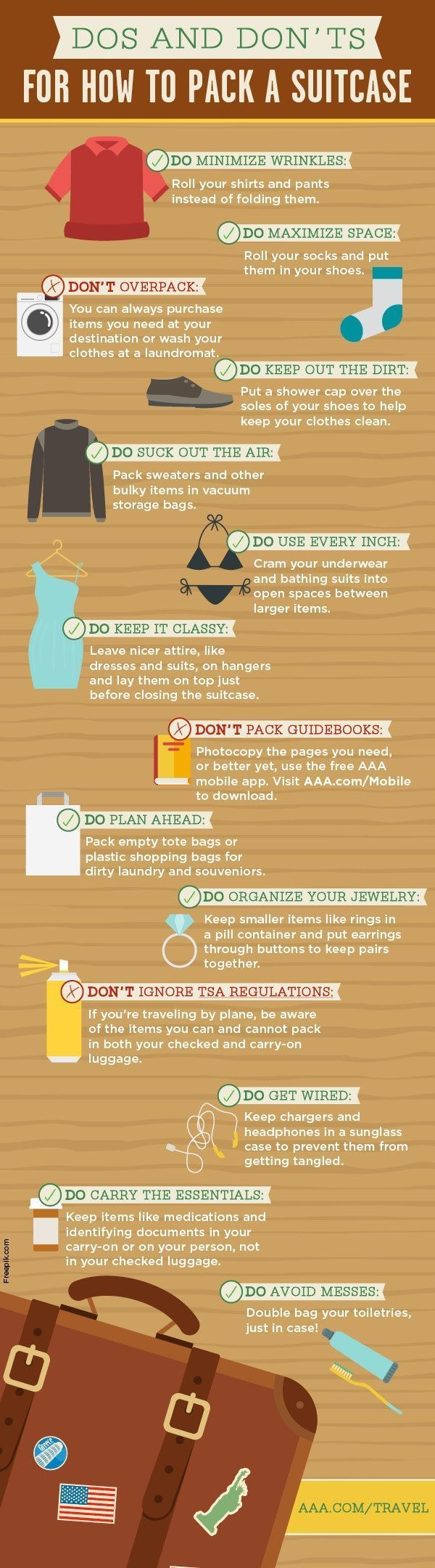 how to pack a suitcase #packingadvice