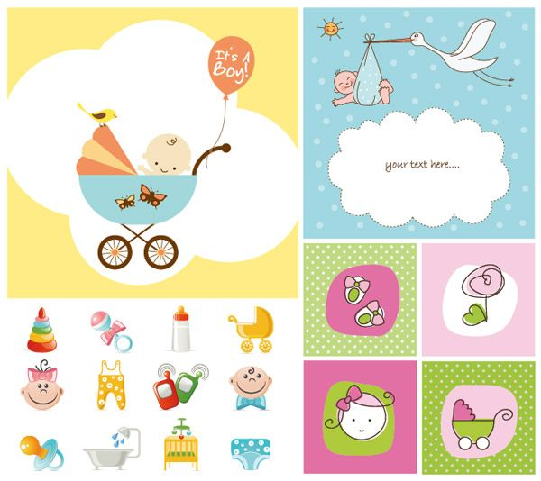 Cute Baby Vector for download and it's free.   Bebe vector ...