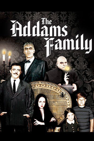 The Aadams Family: Carolyn Jones, John Astin, Ted Cassidy, Jackie Coogan, Ken Weatherwax and Lisa Loring, from IMDB