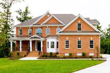 Traditional Home Exterior -5106 - traditional - Exterior - Richmond - Bradford Custom Home Builder