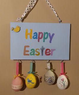 Funky-Junk: Easter Egg Decoration