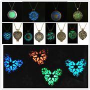 New Style GLOWING Glow In The Dark Locket Pendant Necklace frozen idears 2015
