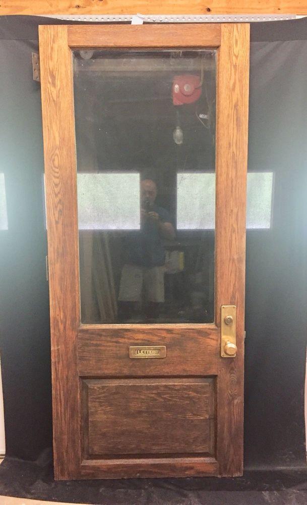 Antique Oak Entry Door Entry Doors Doors Oak