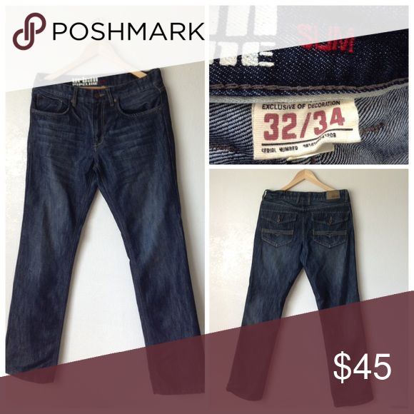 💟SALE💟Urban Pipeline Men's Slim Jeans Size 32 Nice pants. Great condition 🍥Reasonable offers or bundle 3 or mor get 20% less Urban Pipeline Jeans Slim