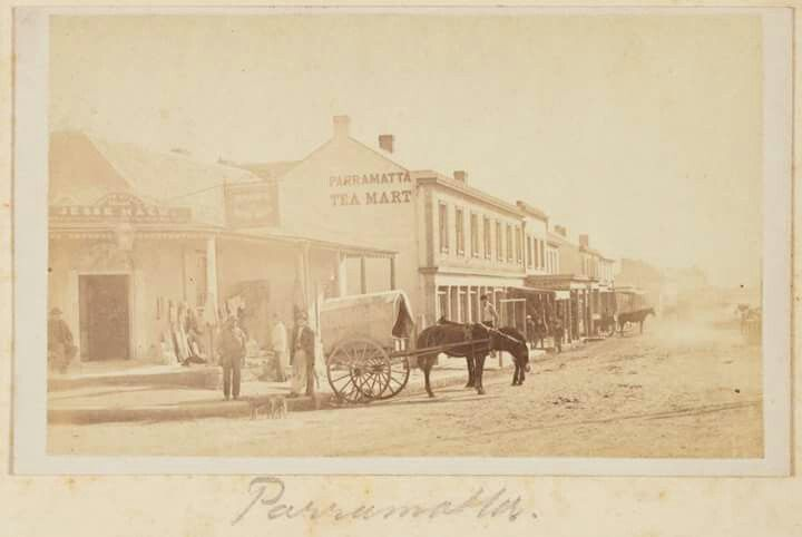 Parramatta in 1871.