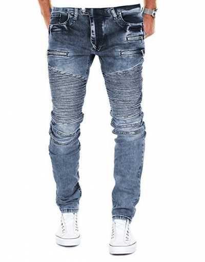 Merish Vaqueros para Hombre Ofertas especiales y promociones  Caracteristicas Del Producto: - Slim Fit Regular Fit Straight Fit - Pantalones de ocio pa