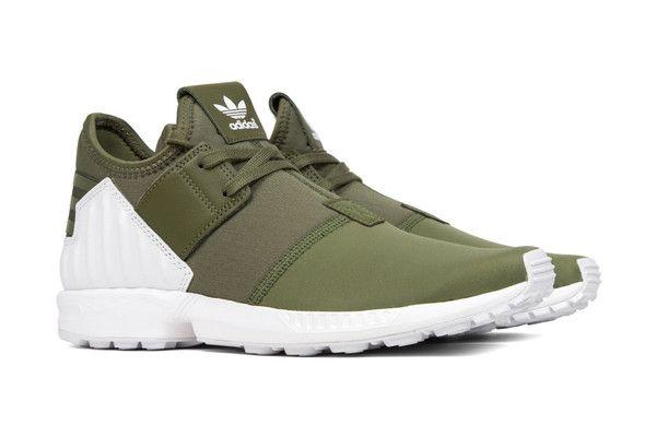Adidas Originals ZX Flux Plus - Olive Cargo – Feature Sneaker Boutique