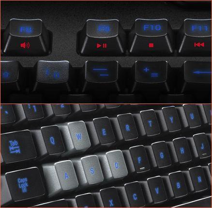 Touches Clavier Logitech G105 #clavier #gamer #G105 #logitech