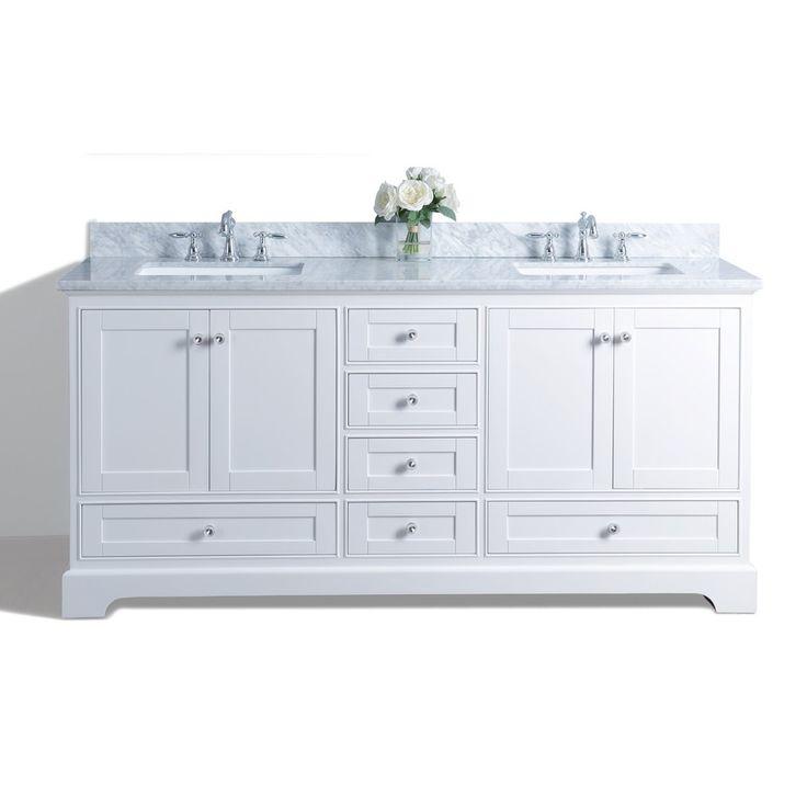 25 Best Double Sink Bathroom Ideas On Pinterest Double Sink Vanity Double