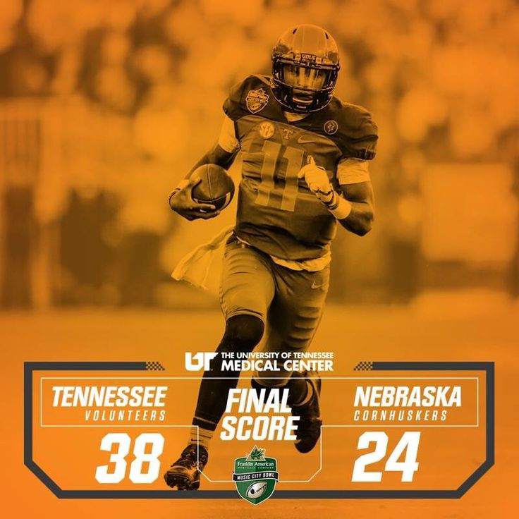 Tennessee Volunteers 2016 Music City Bowl champs!!!