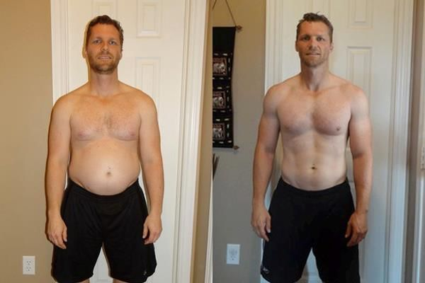 Isagenix Before & After - Aaron H. #weightloss