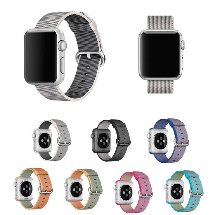 Woven Nylon Strap For Apple Watch 42mm 38mm Series 2 1 Edition