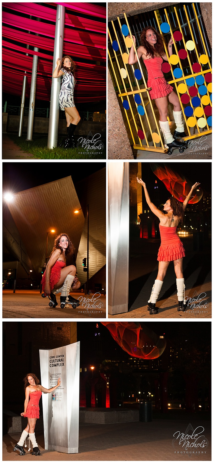 Roller skating denver - 1980s Inspired Roller Skate Portrait Shoot In Downtown Denver By Nichole Nichols Photography