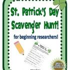 FREE  Students will use books, websites, and encyclopedias to find the answers to 8 basic questions about St. Patrick's Day. Then, they will further thei...