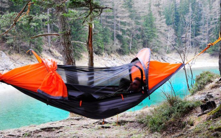 Écologique et durable, cette tente se transforme en hamac et en poncho !