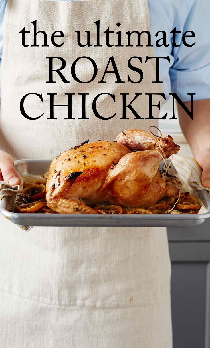 Ultimate Roast Chicken | Martha Stewart Living - After you master our definitive roast chicken recipe, check out our step-by-step guide to carving your bird.