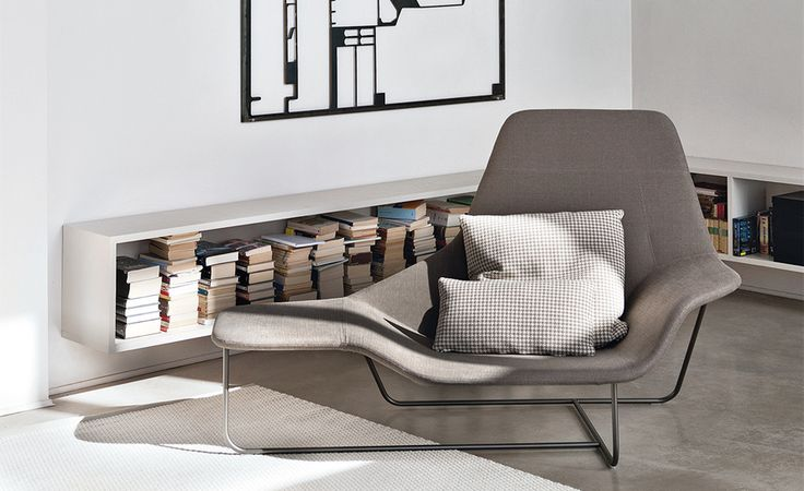 Lama lounge chair lounge pinterest lounge chairs and house remodeling - Library lounge chairs ...