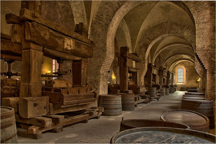 Wine Presses   Eberbach Monastery