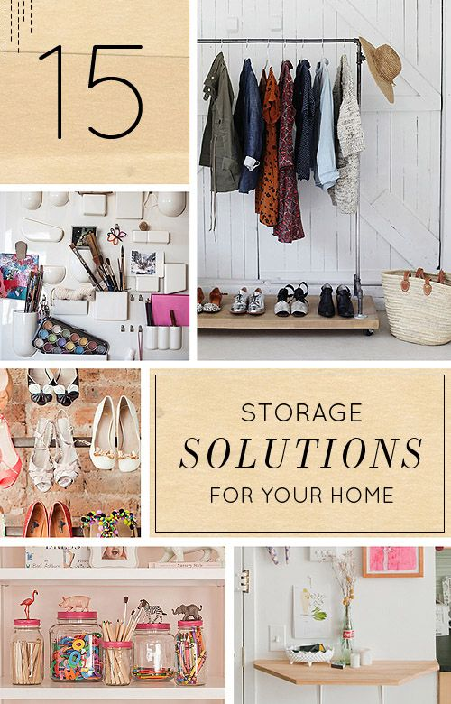 15 Clever Storage Solutions