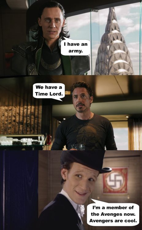 The Avengers are cool :)