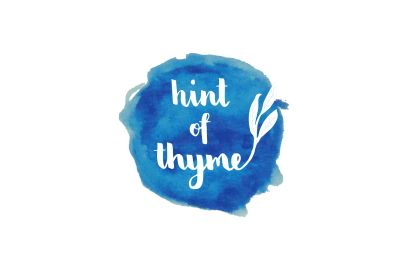 Hint of Thyme Logo and Branding Design | Written by Brittany Design Boutique