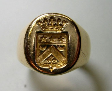 Present Day Family Crest And Rings On Pinterest