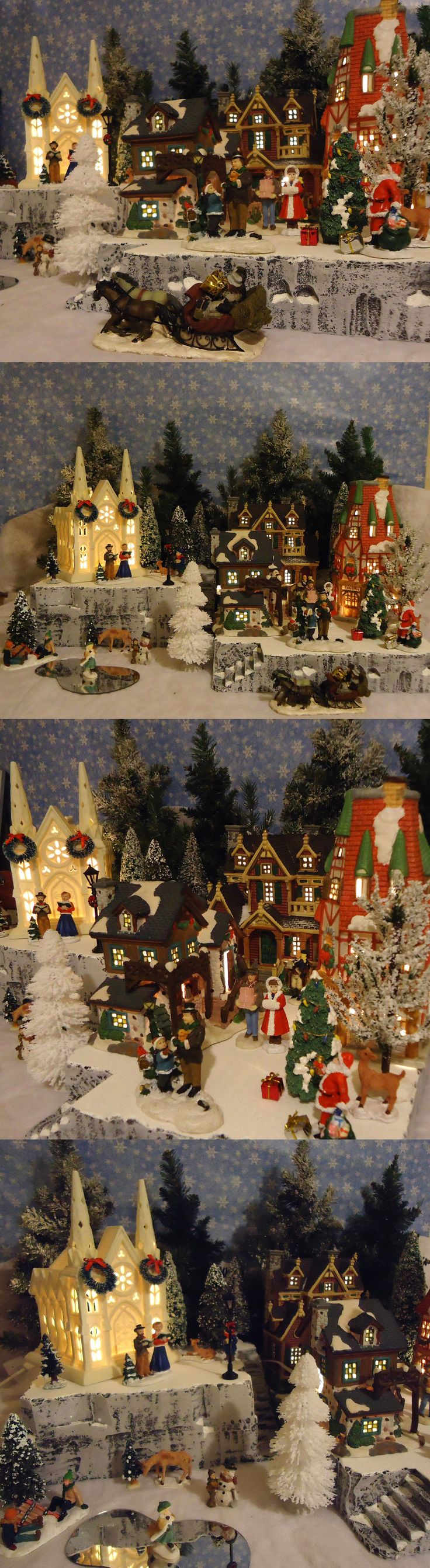 Christmas Collectible Department 56: Christmas Snow Village Display Platform Base Dept 56 Lemax St. Nicholas Square -> BUY IT NOW ONLY: $49.99 on eBay!