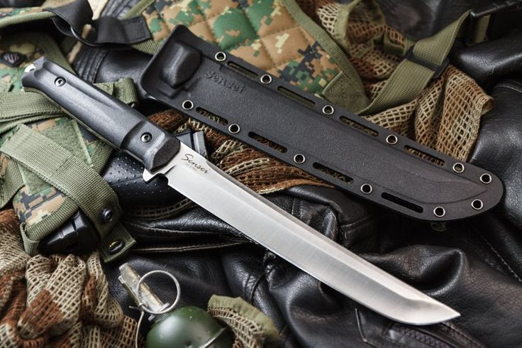 Sensei D2 Satin : Kizlyar Supreme, Superior performance knives developed in Russia